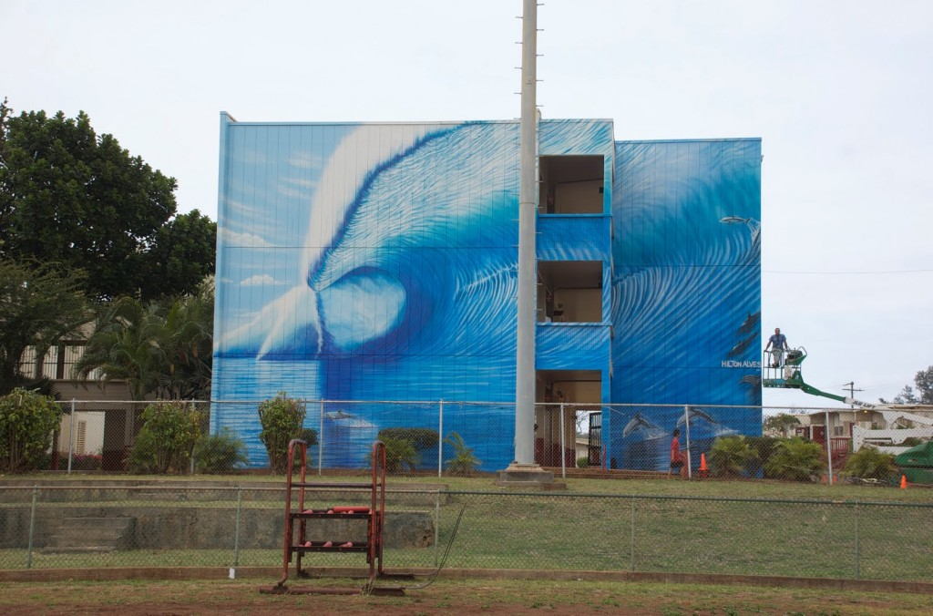 Kahuku Mural - By Hilton Alves 2010